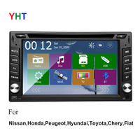 Free Camera Included Car Dvd Player Gps Navigation Wifi Universal 6 2 Radio IPOD Stereo USB