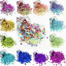 2000 Uds 4mm Lentejuelas redonda plana de PVC suelto Lentejuelas artesanía Paillette ropa de costura accesorio Para decoración DIY Lentejuelas Para Coser