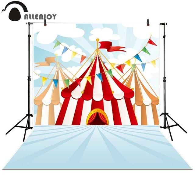 Allenjoy photography backdrops cartoon Sevilla Tent Playground carnival Carousel Flag banner photo studio background  sc 1 st  AliExpress.com & Allenjoy photography backdrops cartoon Sevilla Tent Playground ...