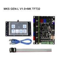 MKS GEN-L V1.0 Main Board + MK TFT28/TFT32 Fulltouch Screen + USB Cable 3D Printer Parts ND998