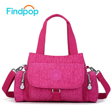 2016 Findpop Women Messenger  Fashion Handbag Bolsa Cloth Canvas Bag Waterproof Nylon Monkey Shoulder  Kiple Ladies Crossbody