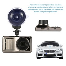Full HD Car DVR with 3″ IPS Screen Display 125 120 Degree Video Camera HD Night Vision Gravity Induction Recorder