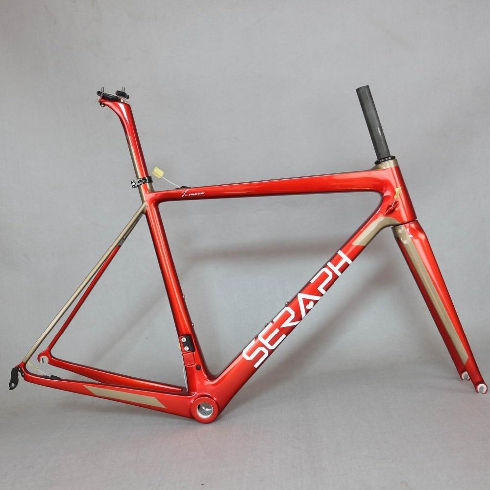 super light T1000 carbon fibre font b bicycle b font frame 780g Carbon Road Bike Frame