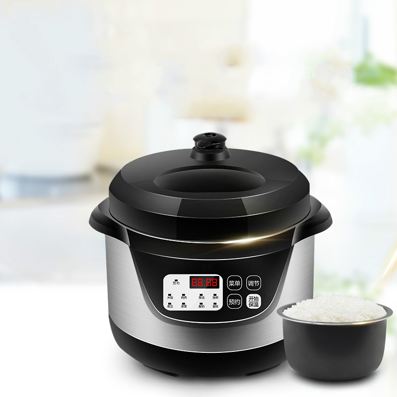 Electric Pressure Cookers Electric pressure cooker 1-2 people mini electric pressure cooker small rice cooker 2L electric pressure cookers electric pressure cooker double gall 5l electric pressure cooker rice cooker 5 people