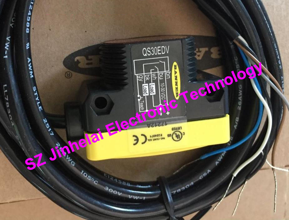 New and original  QS30EDV  BANNER  Photoelectric switch, Photoelectric sensor e3x da21 s photoelectric switch