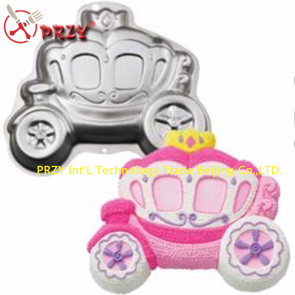 aluminum alloy cake moulds car shape cake decorating tools cake pan NO.:me09