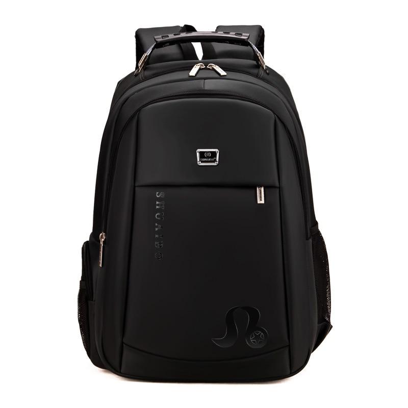 2017 New Arrival Laptop Backpack Large Capacity School Bag Waterproof Backpack Fashion Travel Male Bag Business Men's Backpacks все цены