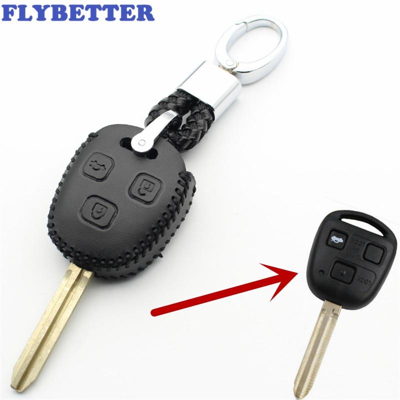 Toyota Corolla Black Spun Brushed Metal Key Chain