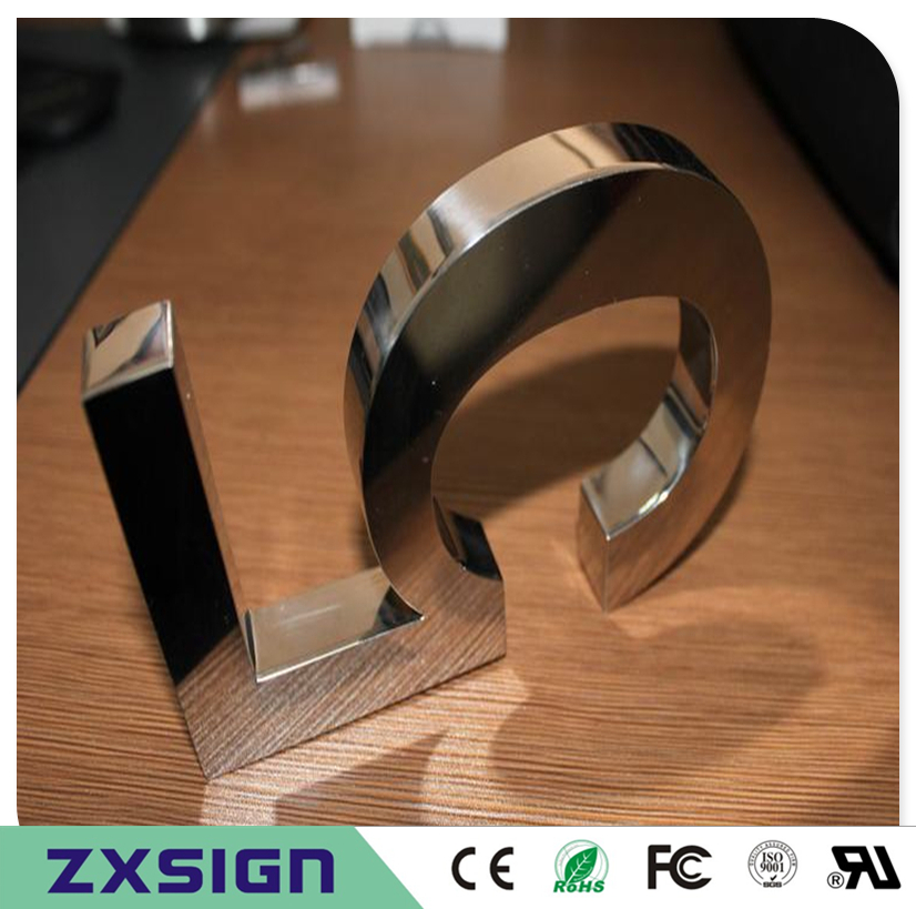 Factory Outlet Outdoor 18cm High Stainless Steel House Number, 7 Inches High Metal Home Digital, Doorplate Figure