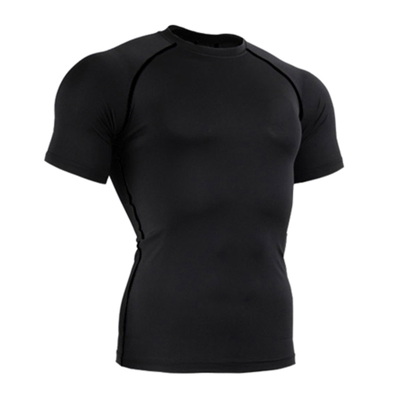 plus size mens clothing underwear mens compression shirt xxxxl Men colete masculino undershirt Men Top Sport Bodybuilding Shirt