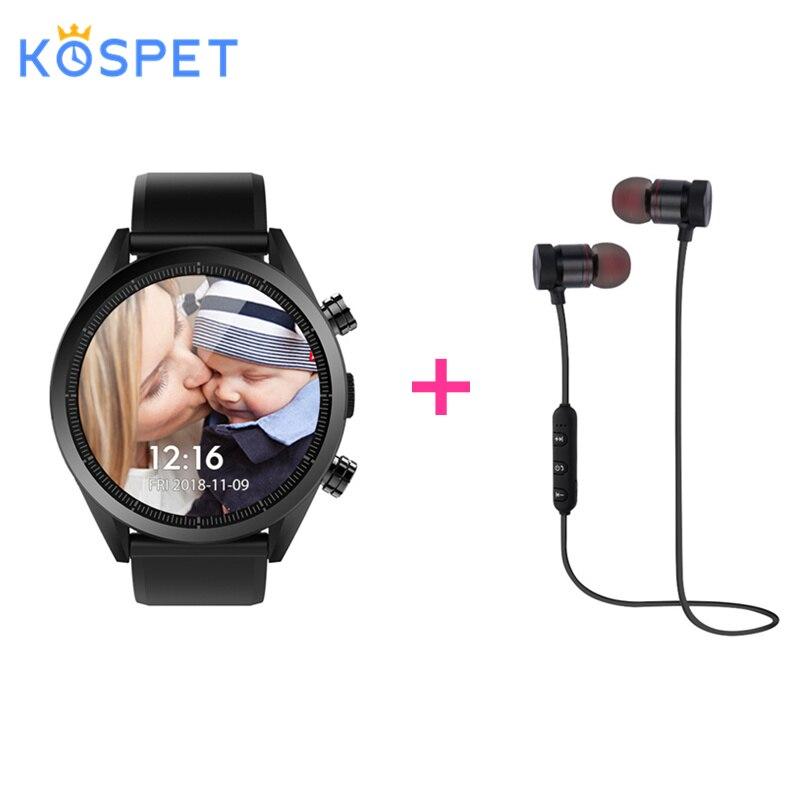 KOSPET hope montre intelligente Android 7.1.1 montre téléphone 4G LTE réseau 3 GB + 32 GB avec 8.0 caméra 620 mah batterie externe chargeur Smartwatch