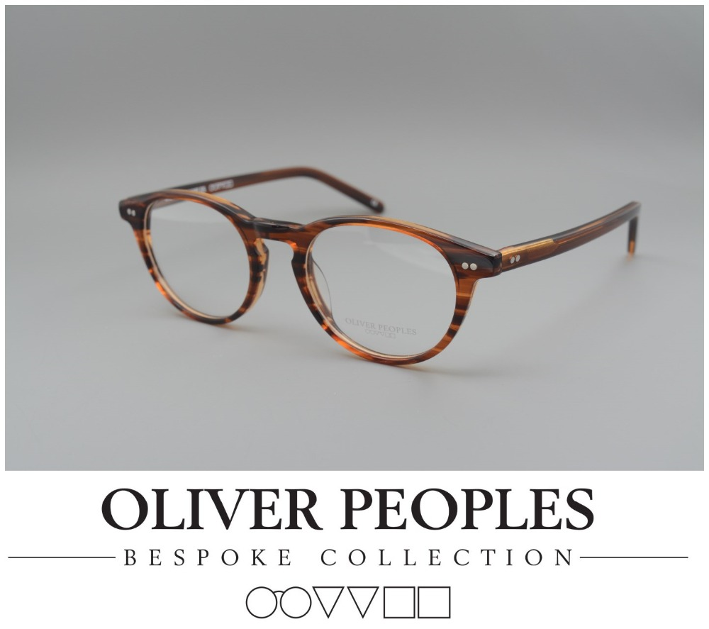 Glasses Frames For 60 Year Old Man : Free shipping No Burden Oliver Riley K Vintage myopia ...