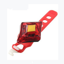 Good deal UK Bicycle bike LED diamante Light bici bicicletta lampada posteriore taillight colore:Rosso