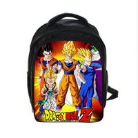 Kids Anime Dragon Ball Z Backpack Sun Goku Children School Bags Boys Girls Daily Backpacks Students