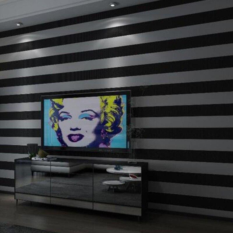 Gemütlich Mode 3D Moderne Gestreifte Tapete Für Wände Kinder Zimmer  Schlafzimmer Wohnzimmer Sofa TV Hintergrund Home