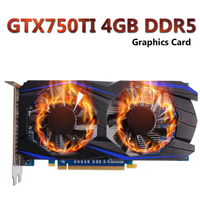 Video Gaming Video Graphics Card For NVIDIA GeForce 128BIT 1050TI 4GB DDR5 750TI 4GB DDR5 GTX