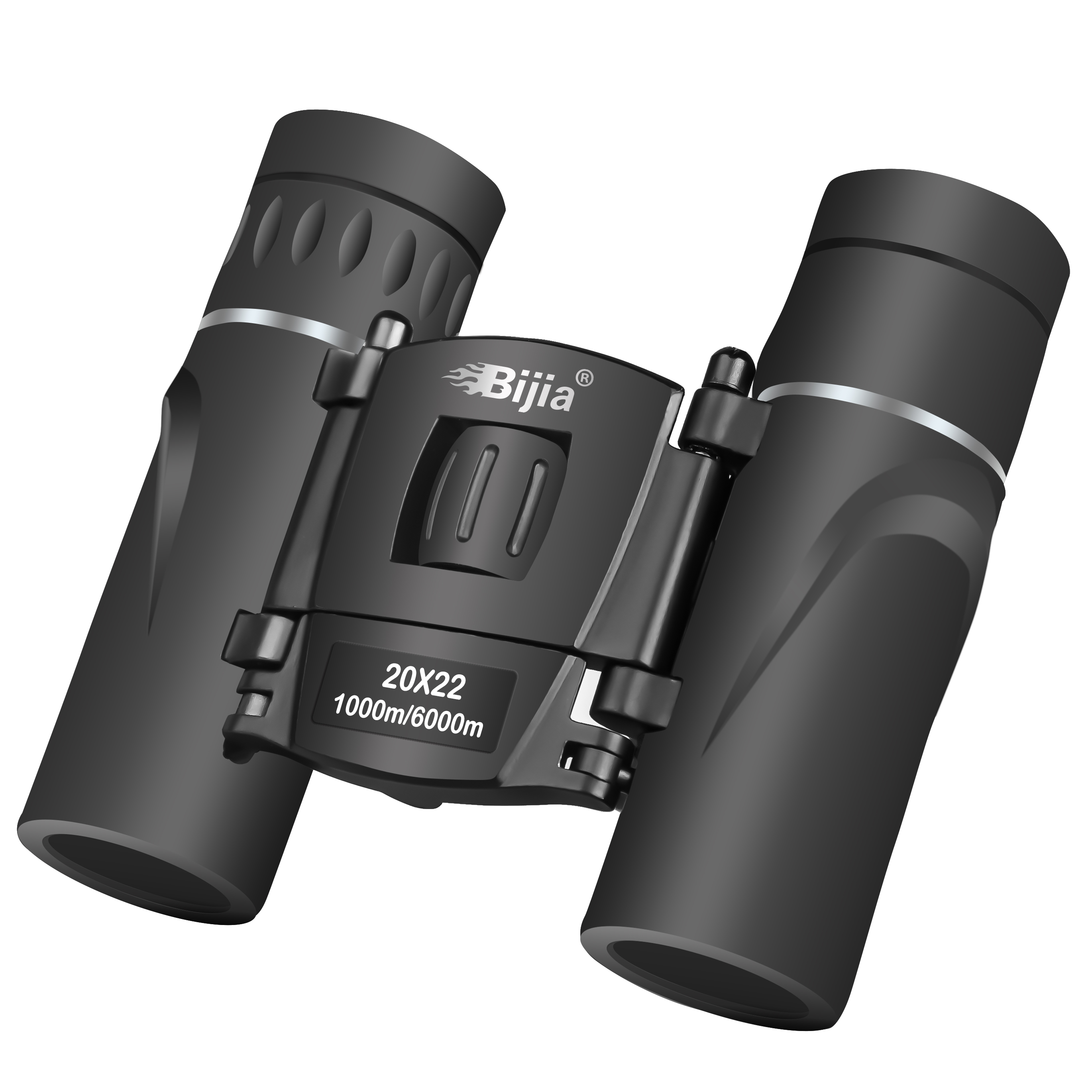 Image 3 - BIJIA HD 20x22 Binoculars Professional Hunting Mini Folding Pocket Telescope BAK4 FMC Optics High Quality Vision Outdoor Gifts-in Monocular/Binoculars from Sports & Entertainment