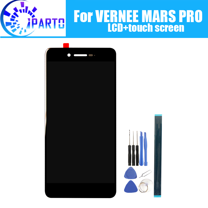 Vernee MARS PRO LCD Display+Touch Screen Digitizer Assembly 100% Original New LCD+Touch Digitizer for MARS PRO+ToolsVernee MARS PRO LCD Display+Touch Screen Digitizer Assembly 100% Original New LCD+Touch Digitizer for MARS PRO+Tools