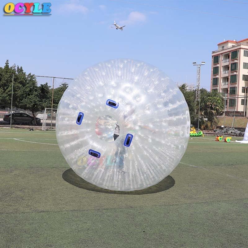 OCYLE livraison gratuite! 2.5 m à l'extérieur 1.5 m à l'intérieur de la boule gonflable de zorb de corps, boule de l'eau de zorb, boule de zorb à vendre