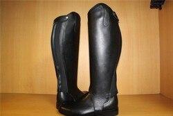 Demi Chaps équitation haute qualité Chaps cuir de vache équipement équestre Chaps en cuir véritable licou bottes d'équitation culottes