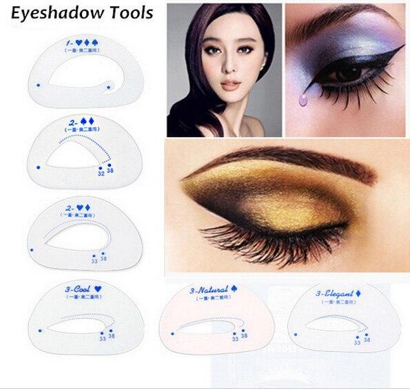 Aliexpress.com : Buy 6pcs/pack Cat Smokey Eye Makeup Stencils ...