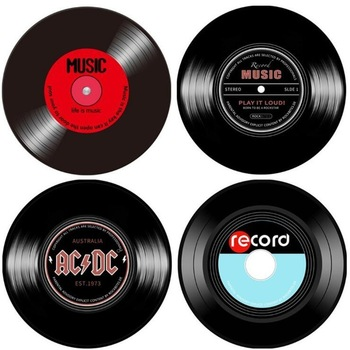 Retro Vinyl Record Wall Hangings