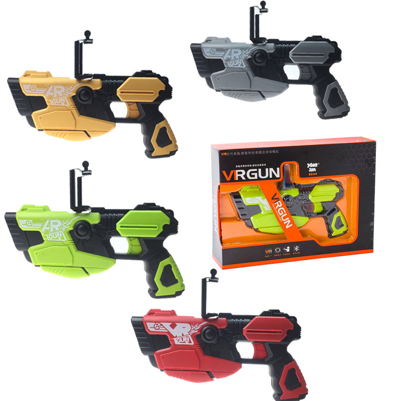 $34.71 2017 AR Pistol Portable Bluetooth AR Gun Newest 3D VR Games AR ToyGame Gun for Android iOS iPhone Phones