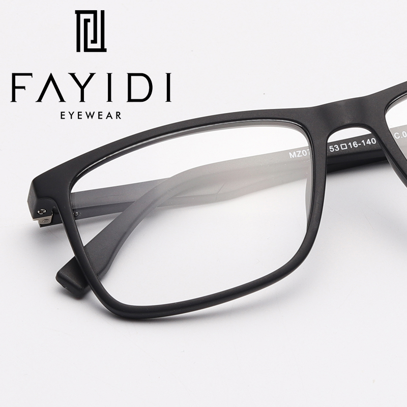 c23a927e1ad Detail Feedback Questions about TR90 Men s Spectacle Frame Square Optical  Computer Prescription Clear Eyeglasses Frame  MZ07 06 on Aliexpress.com