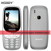 Vkworld Z3310 2 г Особенности телефон 2.4 «32 м + 32 м gsm 6531 TF карты 2MP сзади Камера fm Радио аудио-видео фонарик 1450 мАч Батарея