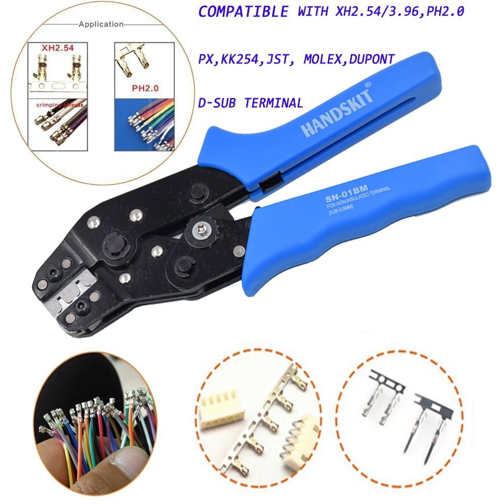 dupont ph2 0 crimping tool plier sn 01bm 0 5mmawg28 22 scn2 5 sm2 5 plug. Black Bedroom Furniture Sets. Home Design Ideas