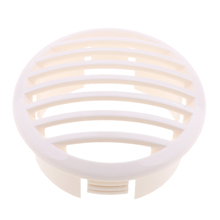 Marine Louvered Vents Round 3-1/2 Inch Hose Hull Air Vent Boat  White Durable and Designed for Straight-Through Air Flow g26ip1 50fiberglass well painted boat hull only for advanced player white