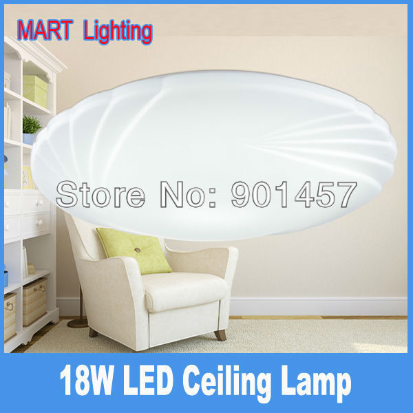 Morden 18W  SMD5730 surface flush mounted LED ceiling lamp   fixture for living bedroom kitchen light