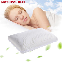 2016 New Natural Latex Pillow Memory Latex Neck Massage Health Pillow Give The Best Gift To