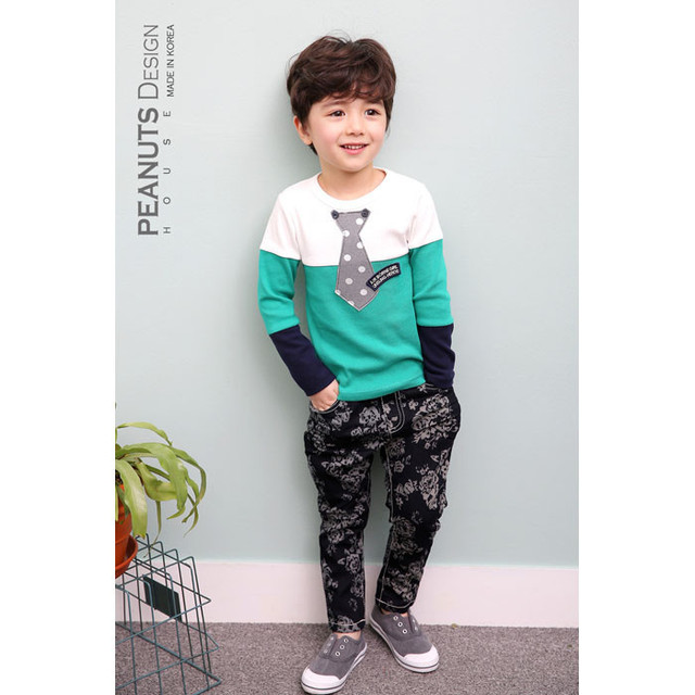 2016 Spring girls boys t shirts baby kids sweatshirt Fashion boys clothes cartoon Tracksuit long sleeve tops$tees designer brand