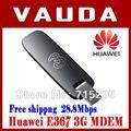 Envío gratis 100% nueva original huawei e367 3g max 21.6mbps tarjeta de red inalámbrica de 28.8 mbps módem interfaz