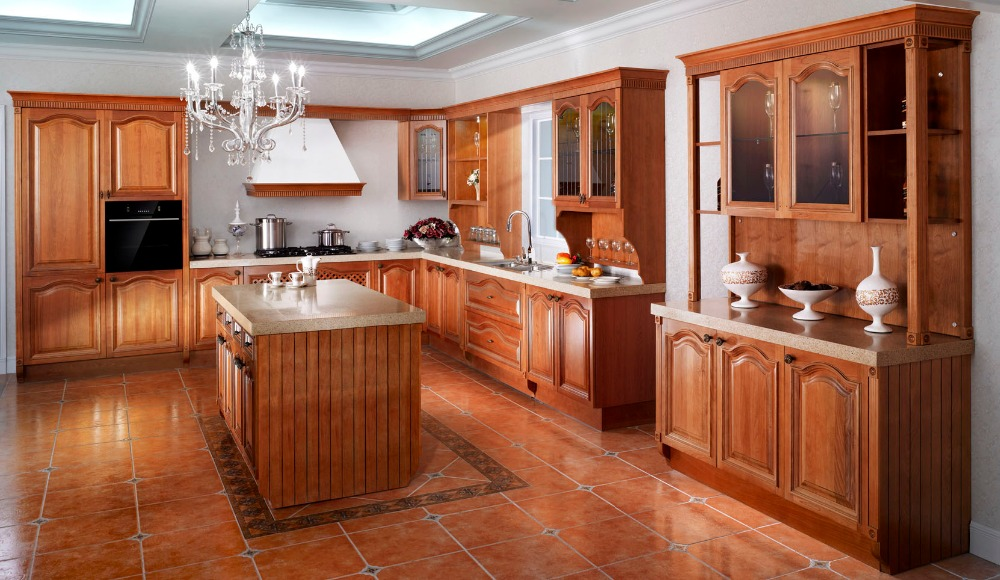 Online buy wholesale kitchen cabinet design from china for New model kitchen design