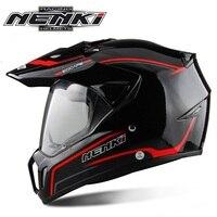 Free Shipping 1pcs NENKI DOT Fiber Glass Shell Street Full Face Helmet Bike Racing Motorbike Riding