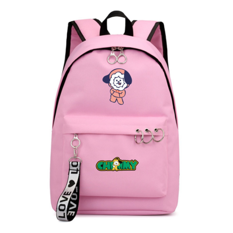 Got7 Mochila Bts Bt21 School Tassen Rucksack Frau College Bookbag Leather Bagpacks For Girls Shoulder Bag Women Casual Backpacks Backpacks
