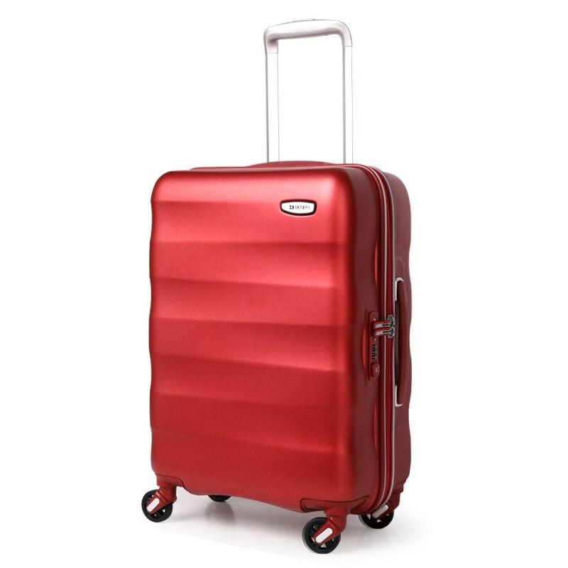 Neue 20/24/28 Zoll Studenten Mode Spinner Marke Trolley Koffer Männer Kreative Reisetasche Roll Gepäck Frauen Passwort Box Gepäck & Reisetaschen Handgepäck