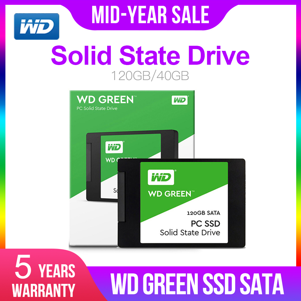 Western Digital WD GREEN PC SSD 240GB 2.5 Inch SATA 3 Laptop Internal Sabit Hard Disk Drive Interno Hd Notebook Harddisk Disque