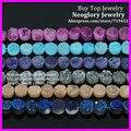 Mystical Titanium Drusy Agate flat round shape Pendant Bead, Coin Druzy Quartz Rainbow Cabochons Stone Beads 10X10mm