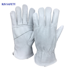 Safety Work Gloves sheepskin Leather Men Working Gloves Safety Protective Sports Driver MOTO Wear-resisting Welding Gloves 4030 nmsafety fashion high quality work safety gloves protective gloves rubber good grip work gloves