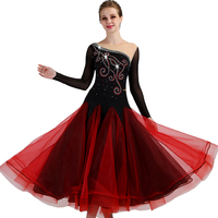 Ballroom Competition Dance Dresses Women 2018 New Design High Quality Elegant Standard Ballroom Dressq092
