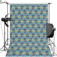 Butterfly Wallpaper Vinyl Photography Background Backdrop For Wedding Oxford Photo Background For Newborn photo studio 1520 цена в Москве и Питере