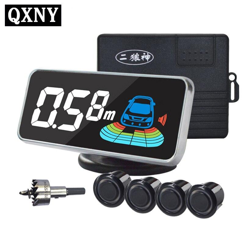 4/capteurs NY606 Voiture LCD Parking Capteur Kit D'affichage pour toutes les voitures parking détecteur de voiture aide au stationnement parking capteur
