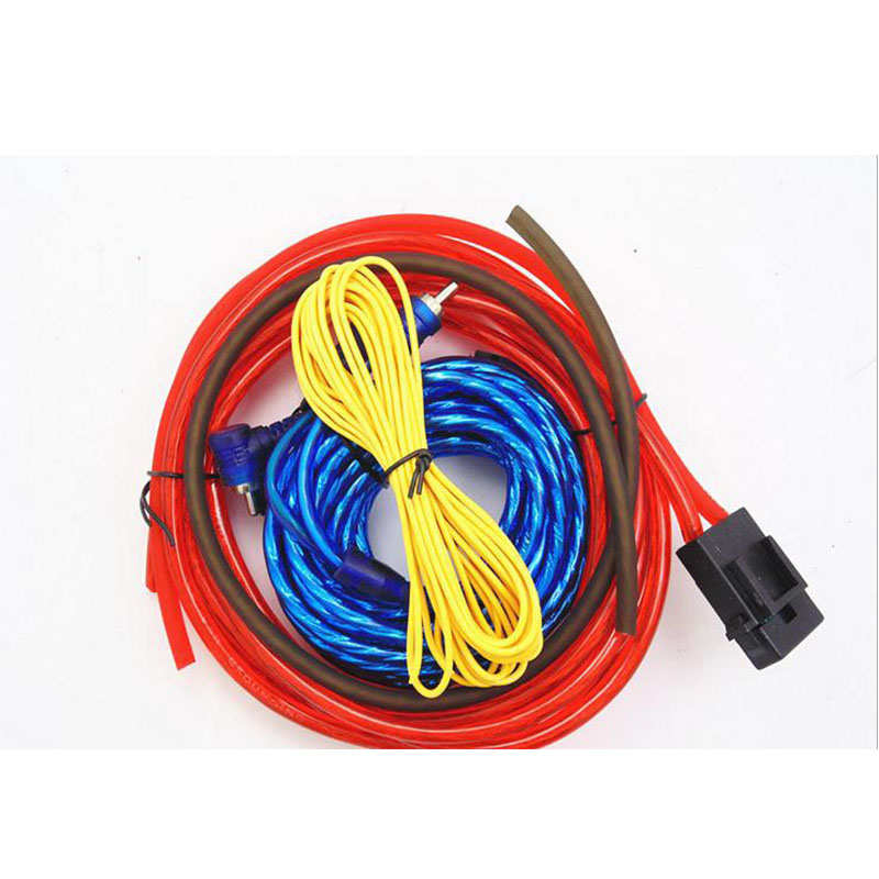installation wires cables kit wiring amplifier car audio wire subwoofer speaker  length