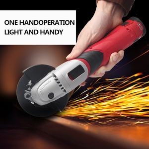 Image 4 - 12 Volt 2000mAh Cordless Lithium ion Angle Grinder Tool 100mm Disc Electric Angler Sander Wheel Grinder Woodworking Buffer Tool