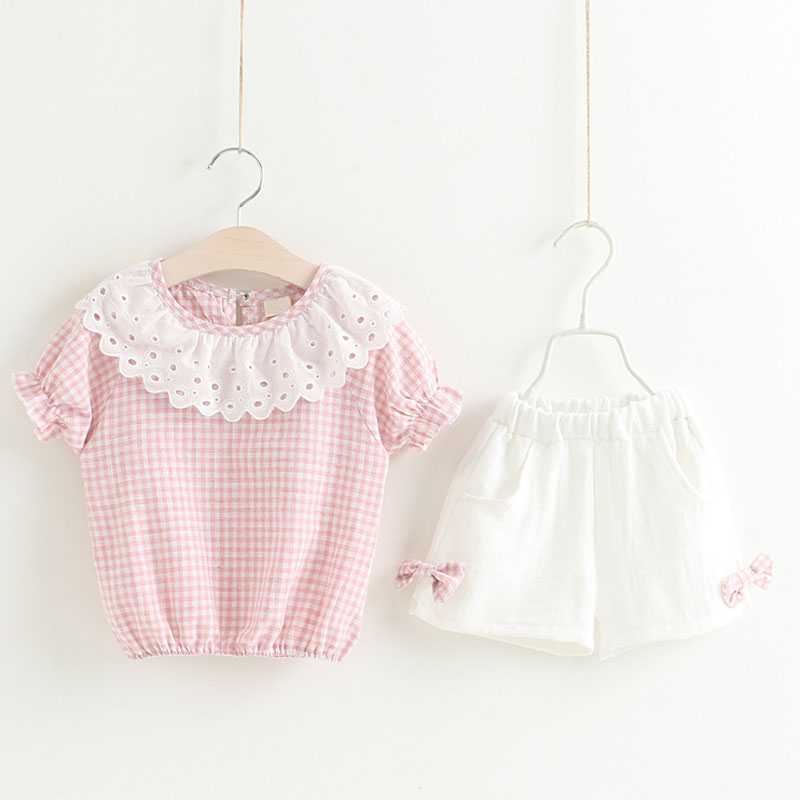 HTB1zy36d8GE3KVjSZFhq6AkaFXaz - Humor Bear Baby Girl Clothes Hot Summer Children's Girls' Clothing Sets Kids Bay clothes Toddler Chiffon bowknot coat+Pants 1-4Y