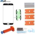 OEM Сенсорная Панель Внешний Стекло для Samsung Galaxy S7 Edge G935F G935A Экран Замена Переднее Стекло Объектива Ремонт Комплекты УФ Loca Клей
