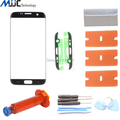 OEM Touch Panel Outer Glass for Samsung Galaxy S7 Edge G935F G935A Screen Replacement Front Glass Lens Repair Kits UV Loca Glue